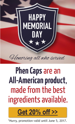 20% off Phen Caps
