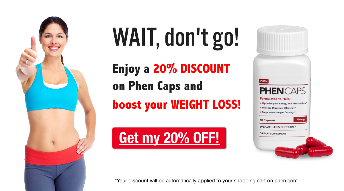 Get 20% off Phen Caps
